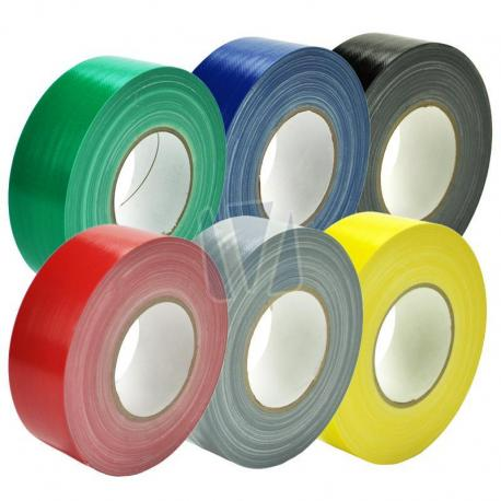 Duct tape in meerdere kleuren (per rol)